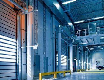Оборудване на индустриалните врати