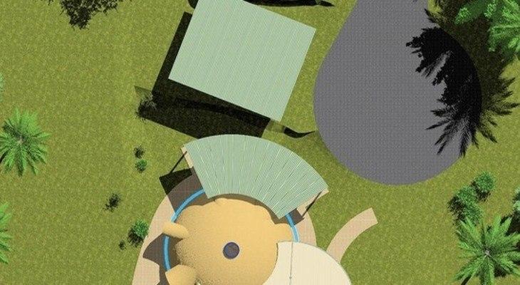 Подходяща основа за куполна къща